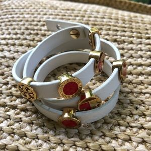 Tory Burch Triple Wrap Bracelet